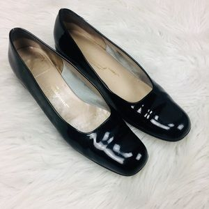 Salvatore Ferragamo Shoes 💜 Size 9 Black Leather